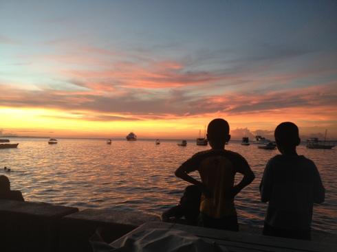 forodhani sunset